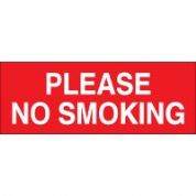 No Smoking safety sign - Please No Smoking 029